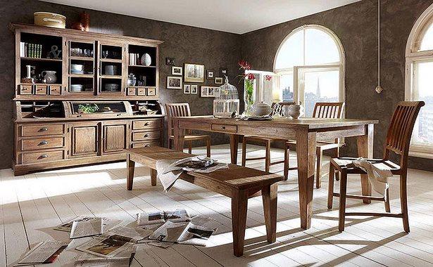 esszimmer landhausstil massiv. Black Bedroom Furniture Sets. Home Design Ideas