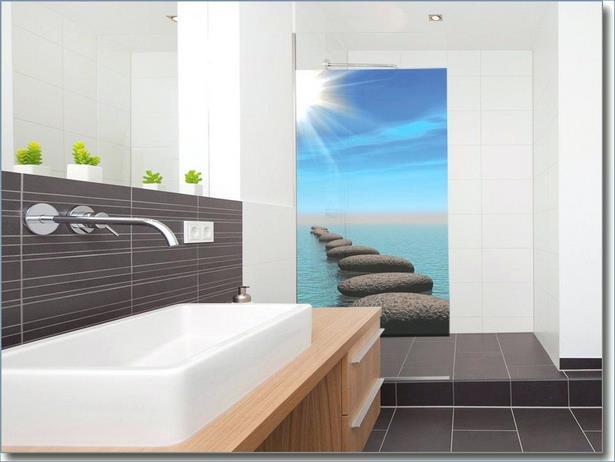glasbild f r badezimmer. Black Bedroom Furniture Sets. Home Design Ideas