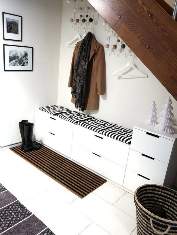 ideen flurgarderobe. Black Bedroom Furniture Sets. Home Design Ideas