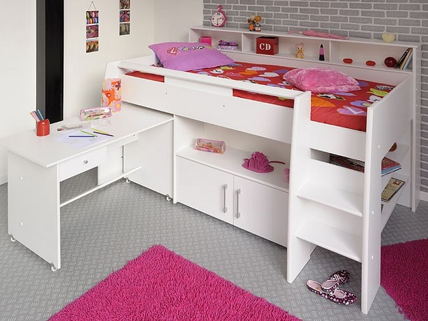 kinderbett f r kleines zimmer. Black Bedroom Furniture Sets. Home Design Ideas