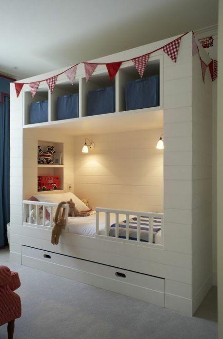 kinderbett f r kleines zimmer. Black Bedroom Furniture Sets. Home Design Ideas