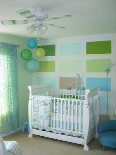 Babyzimmer deko junge