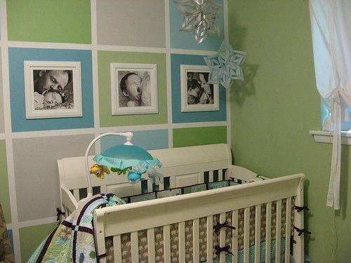 Graues Babyzimmer Dekoration : Babyzimmer deko junge