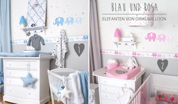 Babyzimmer junge wandgestaltung