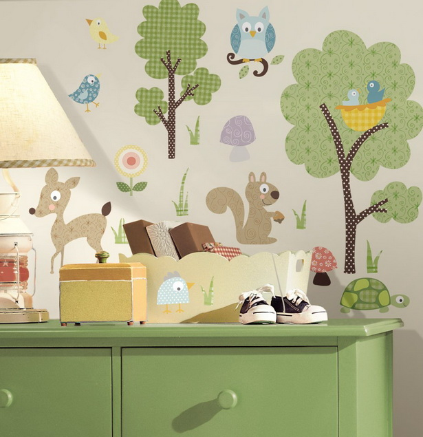 babyzimmer w nde gestalten. Black Bedroom Furniture Sets. Home Design Ideas