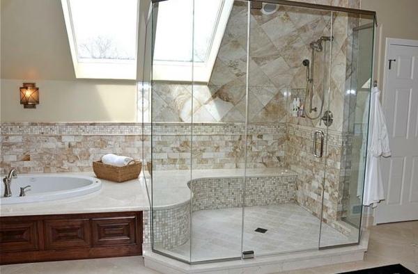 Badezimmer Design Beispiele bad ideen dachgeschoss