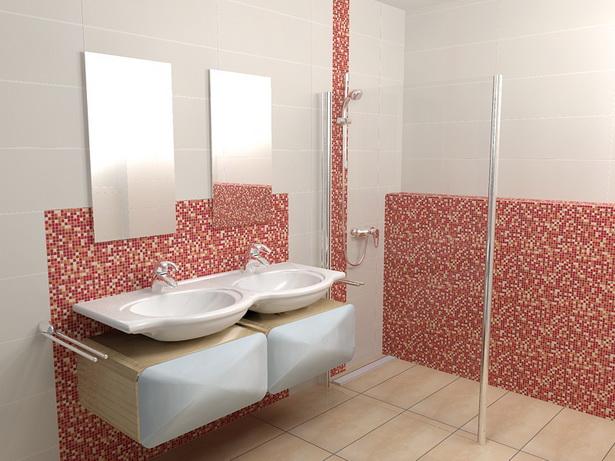 Badezimmer ideen mosaik