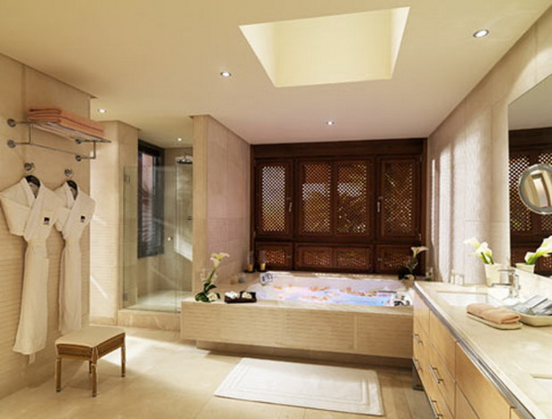 badezimmer spa stil. Black Bedroom Furniture Sets. Home Design Ideas