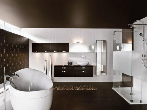 Badezimmergestaltung modern