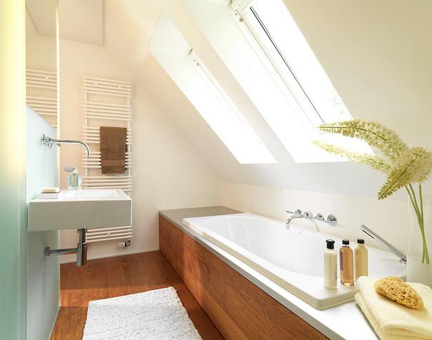 Badideen f r kleine b der mit dachschr ge - Moderne bder mit dachschrge ...