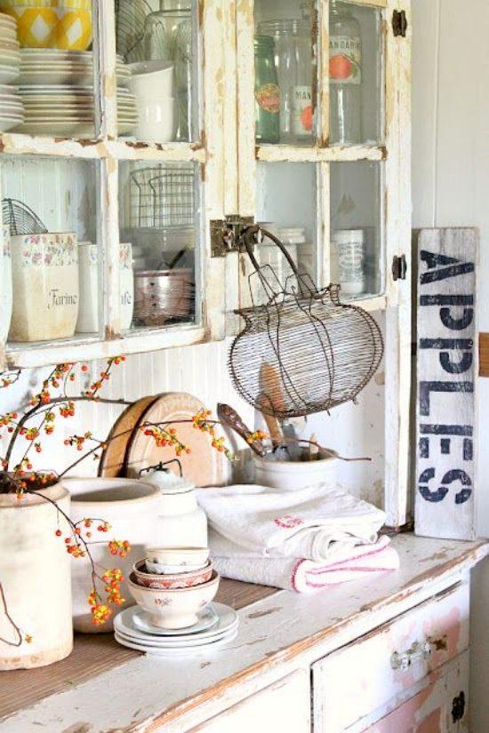 Großartig Dekorieren Küchenfensterbank Fotos - Küchenschrank Ideen ...