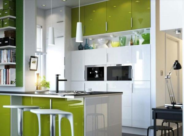 Farbe in der küche ideen