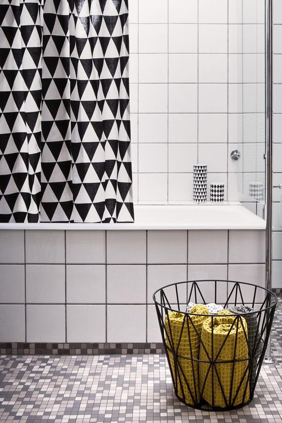 Badezimmer Verschönern Mit Modernen Mustern Und Farben