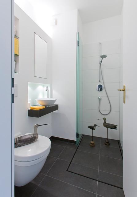 Gäste wc mit dusche ideen