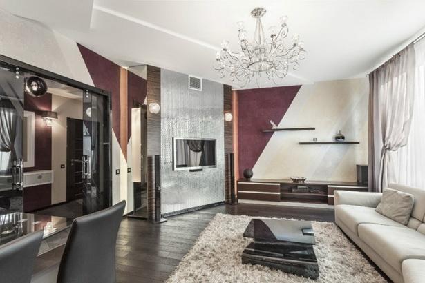 Ideen farbe wohnzimmer for Zeitgenossisch lila beige wande