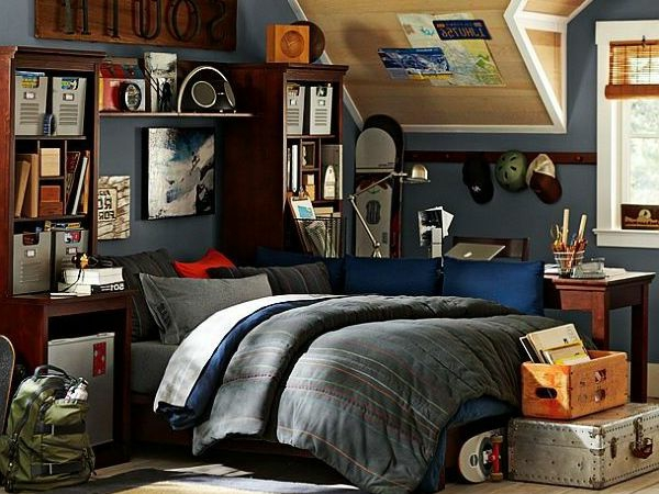jugendzimmer ideen jungs. Black Bedroom Furniture Sets. Home Design Ideas