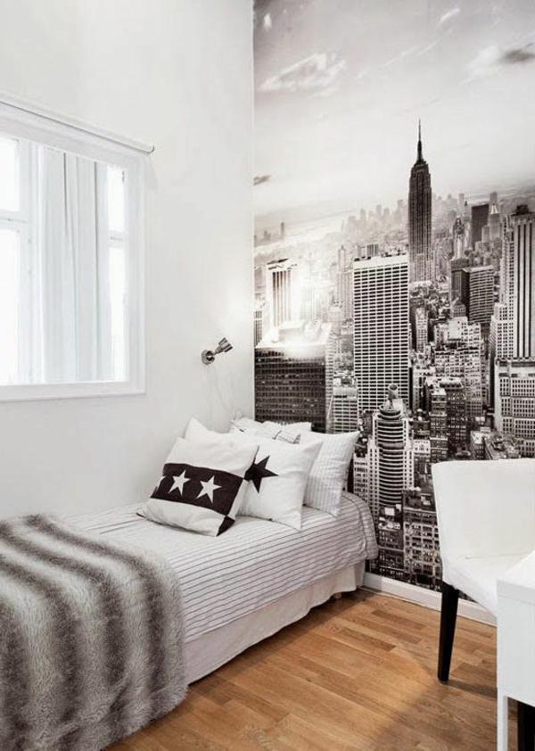 jugendzimmer tapeten ideen. Black Bedroom Furniture Sets. Home Design Ideas