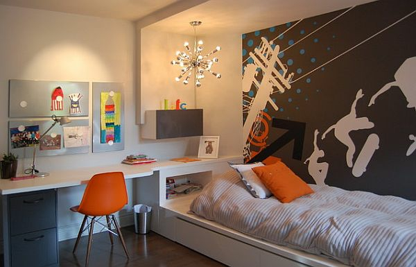 jungen jugendzimmer ideen. Black Bedroom Furniture Sets. Home Design Ideas