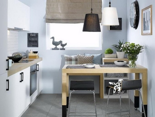 k chenideen f r kleine r ume. Black Bedroom Furniture Sets. Home Design Ideas