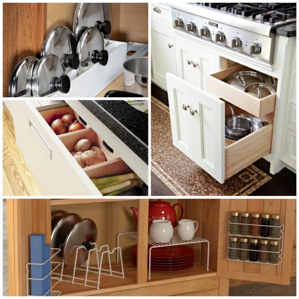 40 Luxuriöse Einrichtungsideen: Küchenschrank Einrichtungen
