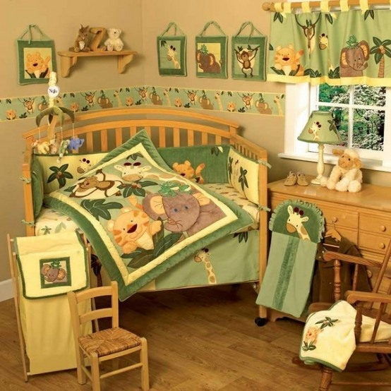 Charmant Kinderzimmer Dschungel Gestalten Galerie