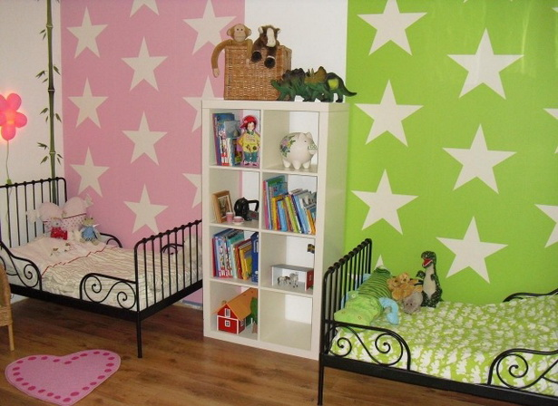 kinderzimmer farben beispiele. Black Bedroom Furniture Sets. Home Design Ideas