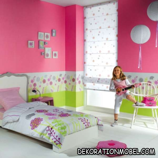 kinderzimmer tapezieren ideen. Black Bedroom Furniture Sets. Home Design Ideas