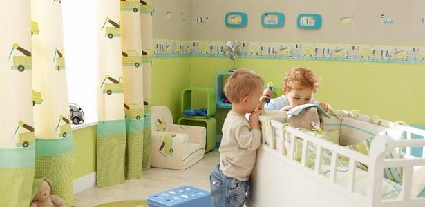 Kinderzimmer wandgestaltung farbe