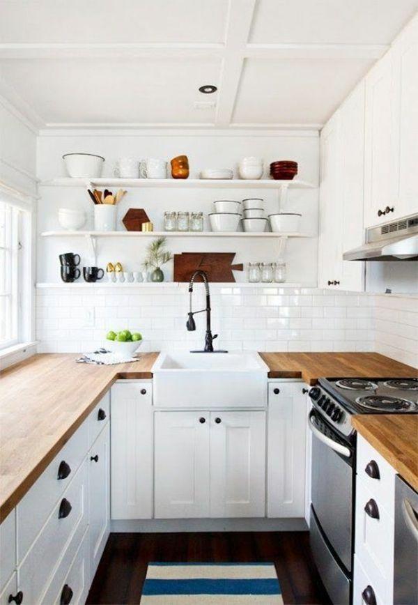 kleine k che landhausstil. Black Bedroom Furniture Sets. Home Design Ideas