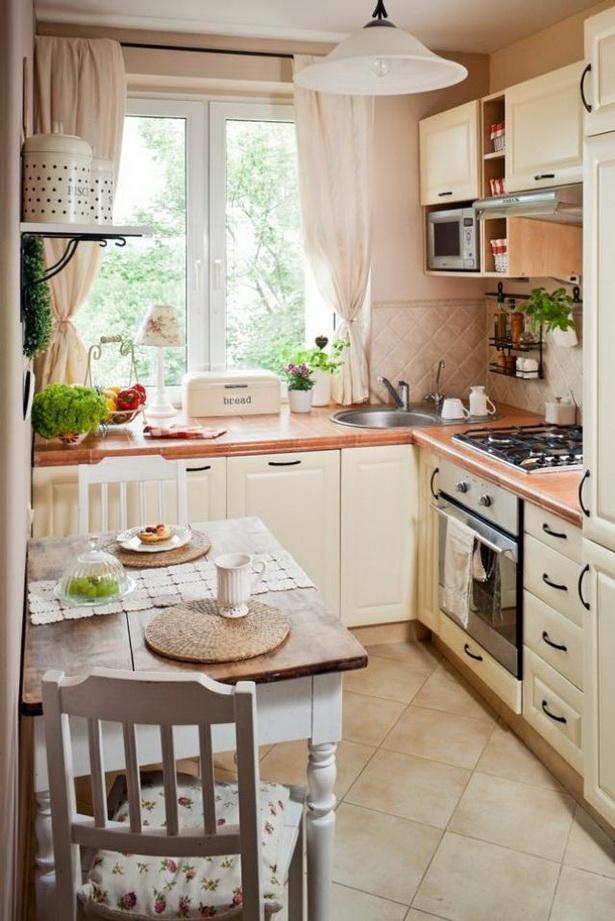 Kleine küche landhausstil