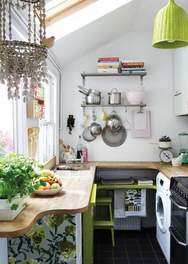 Wohnideen Für Kleine Küchen kleine wohnküche ideen