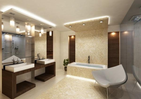 Licht ideen badezimmer