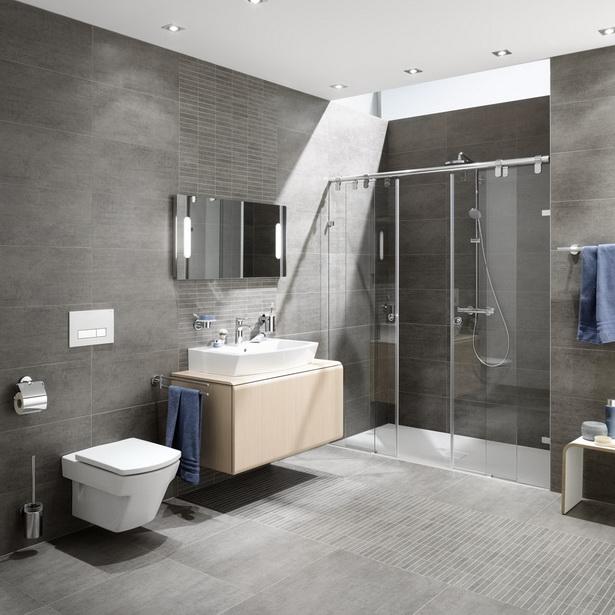 Moderne badezimmerfliesen