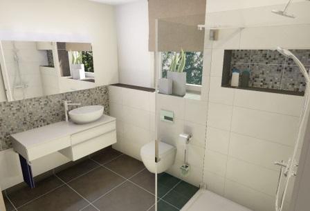 Moderne b der auf kleinem raum for Badgestaltung kleine bader