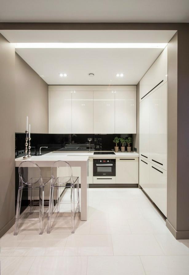 Moderne kleine küche
