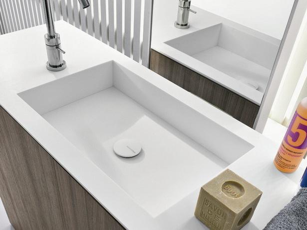 Moderne waschbecken bad - Badezimmer corian ...