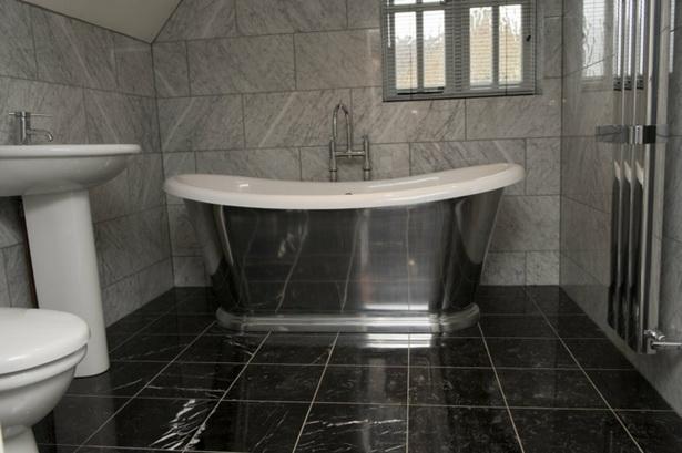 Schwarze Fliesen Im Bad schwarze fliesen badezimmer