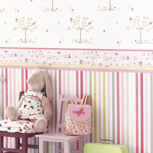 tapeten kinderzimmer ideen. Black Bedroom Furniture Sets. Home Design Ideas