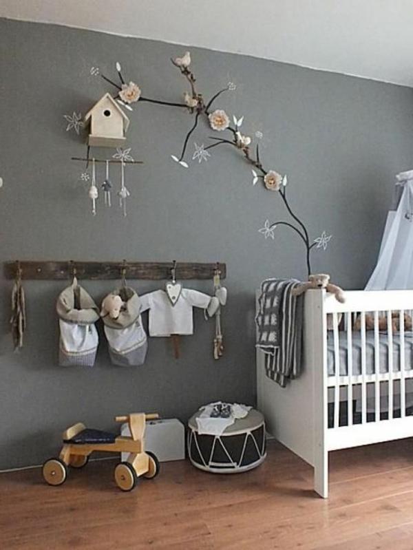 Wanddeko für babyzimmer