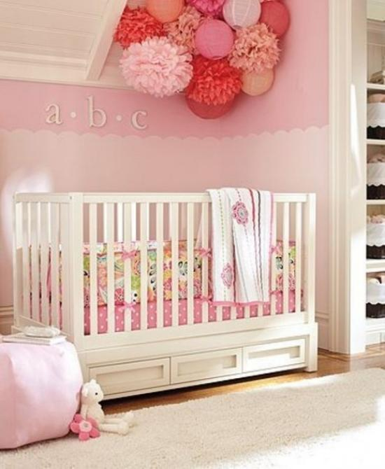 wanddeko f r babyzimmer. Black Bedroom Furniture Sets. Home Design Ideas