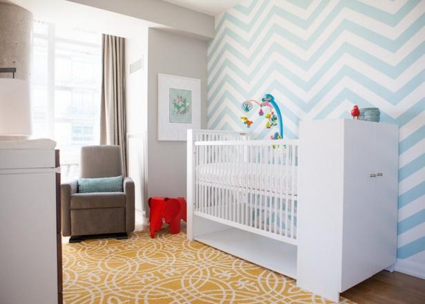 Wandgestaltung babyzimmer junge