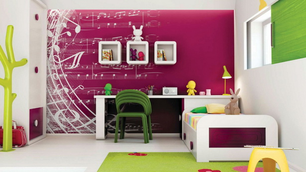 wandgestaltung kinderzimmer m dchen. Black Bedroom Furniture Sets. Home Design Ideas