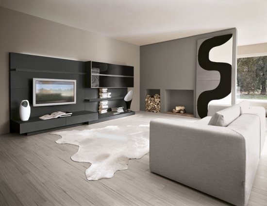 beautiful wohnzimmer einrichten grau lila photos. Black Bedroom Furniture Sets. Home Design Ideas