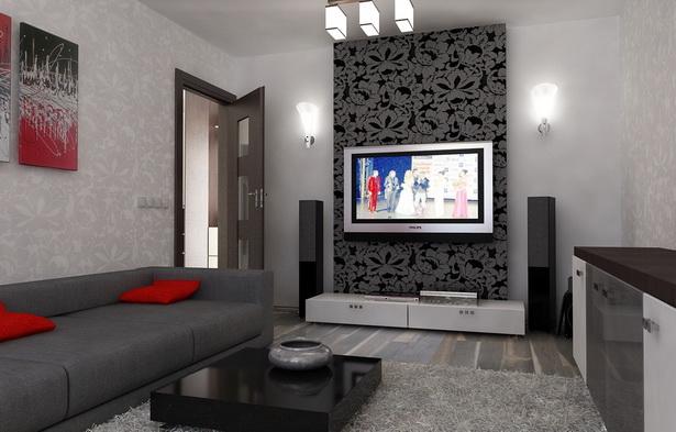 Wohnzimmer einrichten grau
