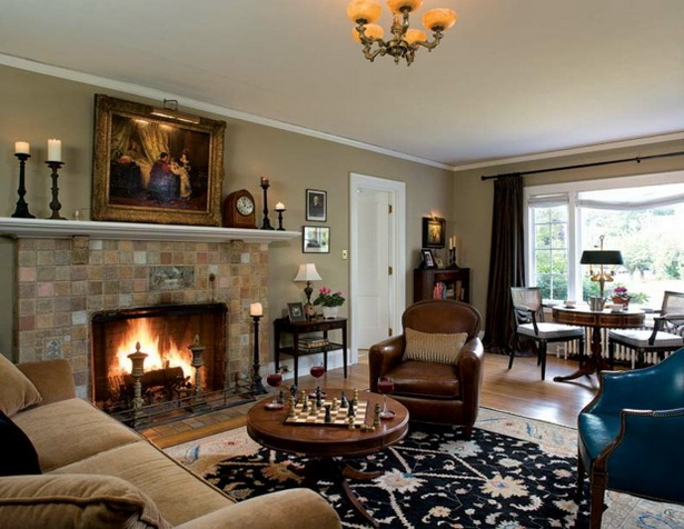 Wohnzimmer kolonialstil möbel