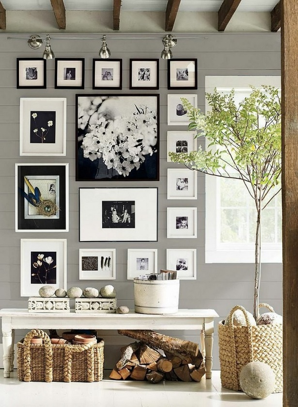 bilderrahmen wand gestalten. Black Bedroom Furniture Sets. Home Design Ideas