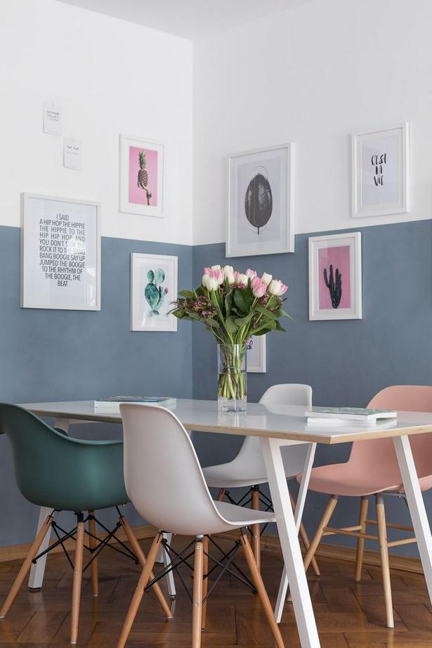 blaues wohnzimmer ideen. Black Bedroom Furniture Sets. Home Design Ideas