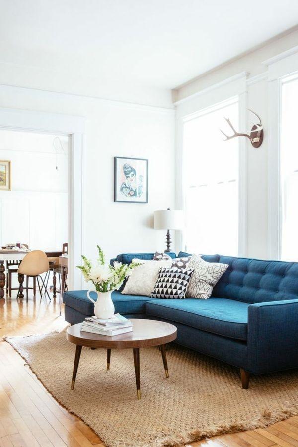 Blaues wohnzimmer ideen - Blaues wohnzimmer ...