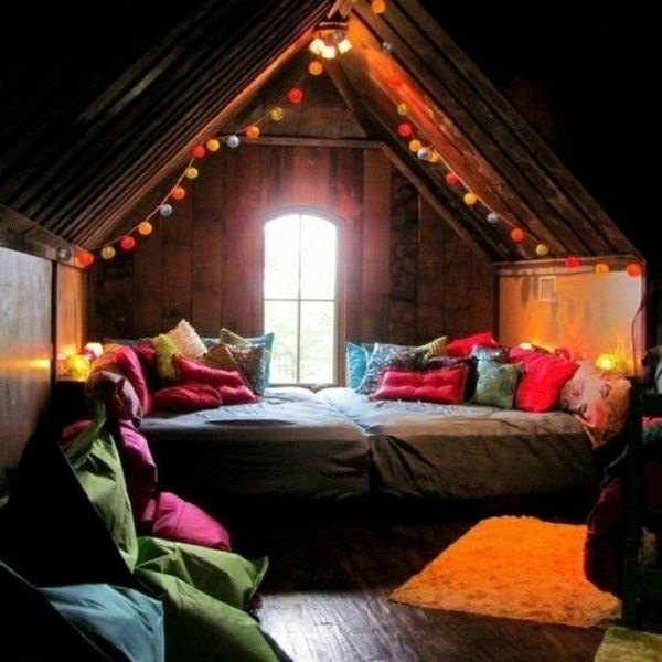 Farbgestaltung Schlafzimmer Mit Dachschräge: Dachschräge Deko Schlafzimmer