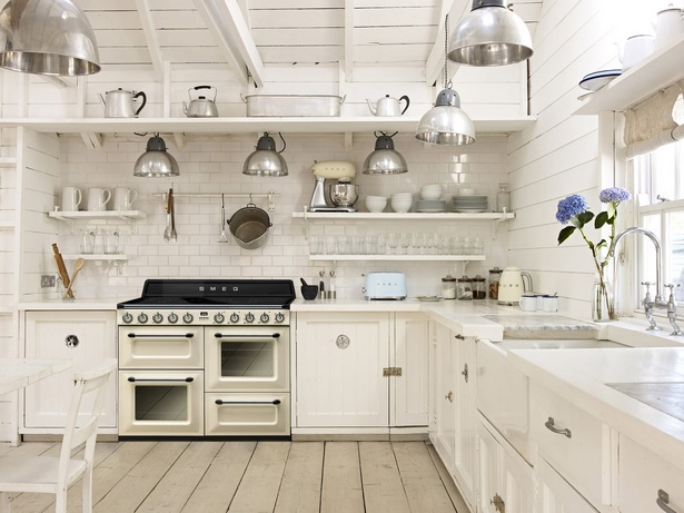 Einrichtungsideen küche landhaus